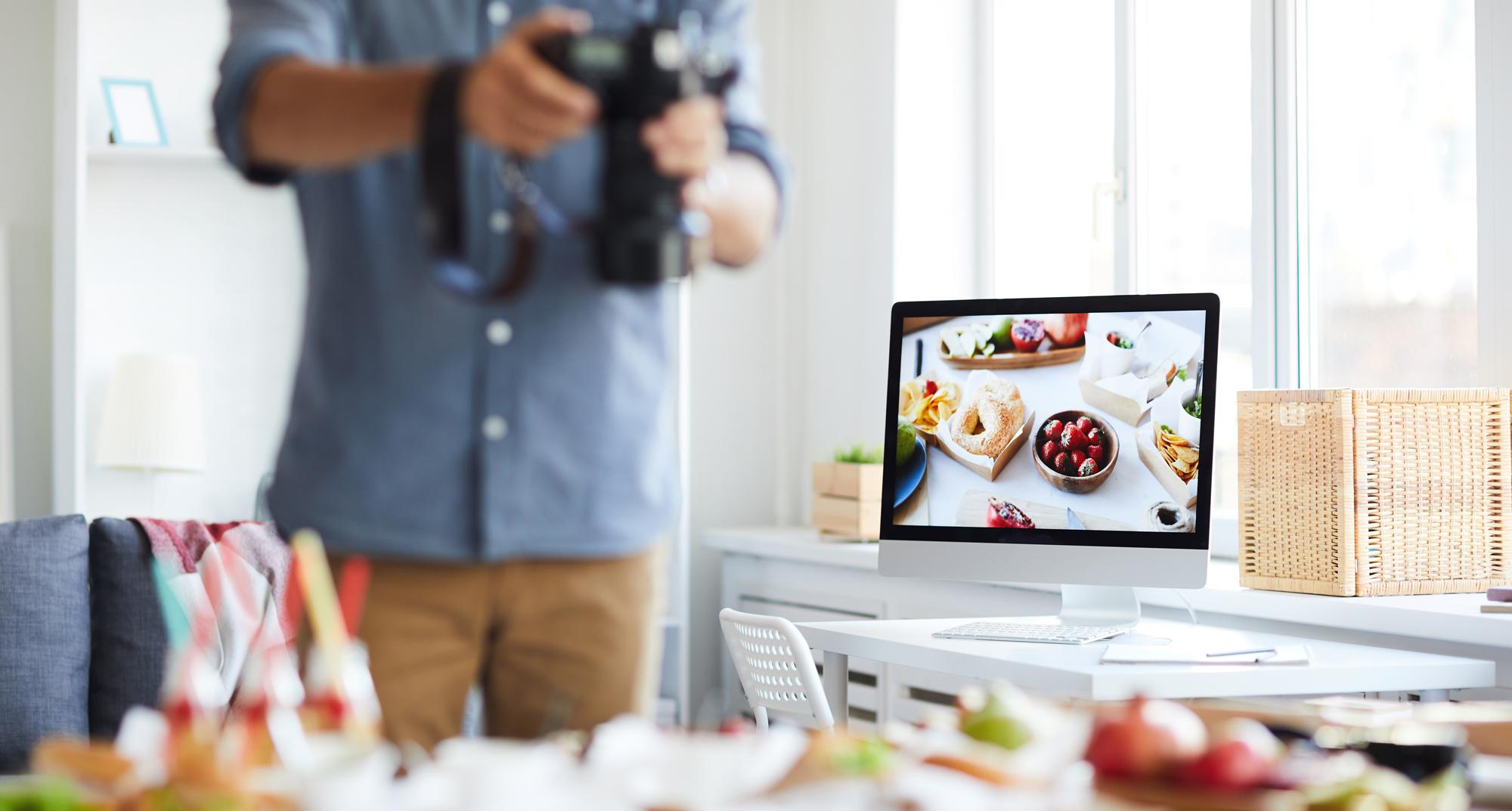 Как да обновите уеб страницата си с професионална фотография